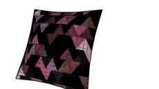 Curtain, pillows