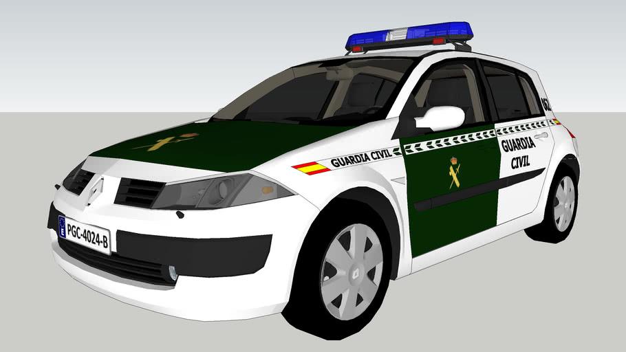 Ranult Megane Guardia Civil