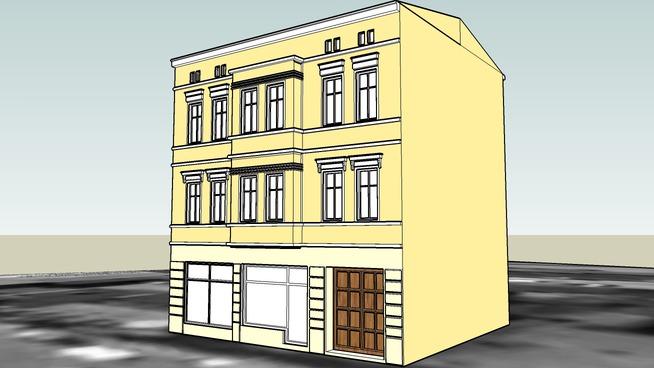 TENEMENT HOUSE ON 59 DWORCOWA STREET IN BYDGOSZCZ