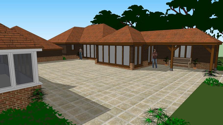 New Swimming Pool & Sauna Room