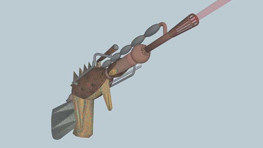 23th century raygun