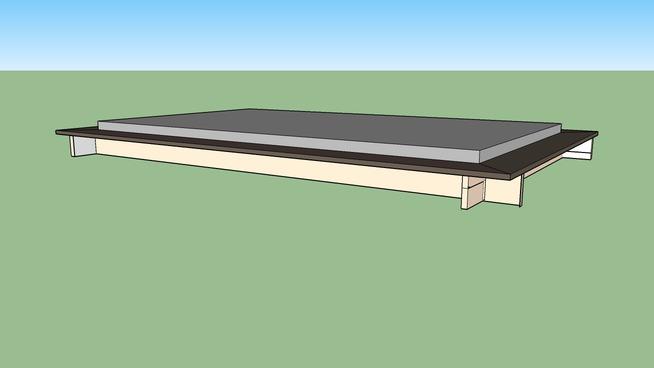 Zirbenholzbett - ein erster Versuch