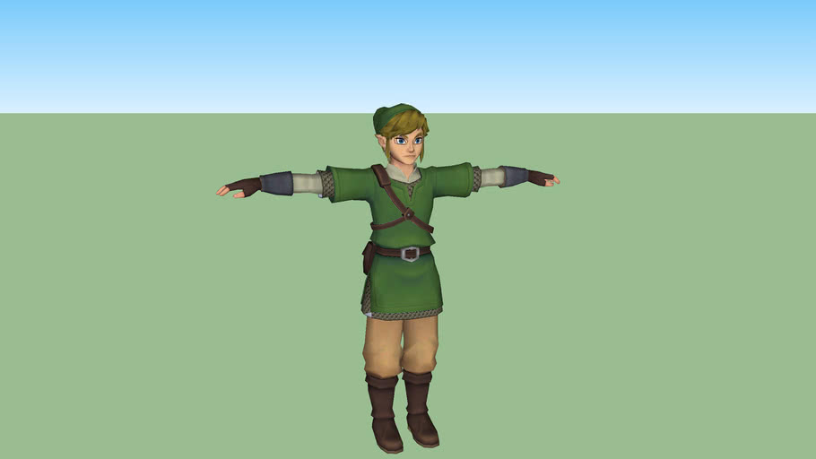 Link - The Legend of Zelda: Skyward Sword