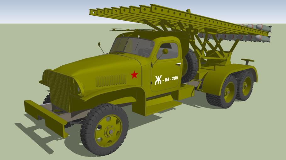 BM 16 GMC 6x6 Katyusha