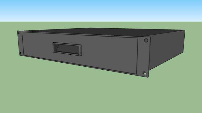 19 inch 2 RU Drawer