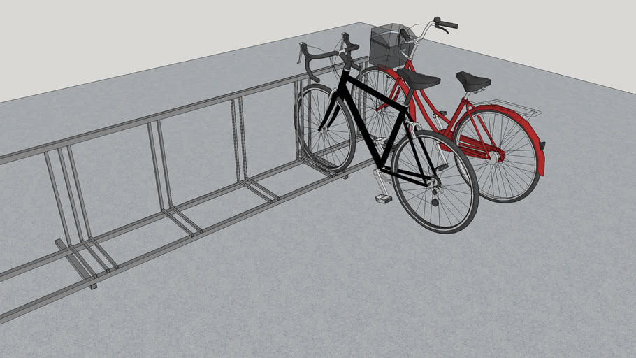 Bicycle stand - simple DIY w/ plans