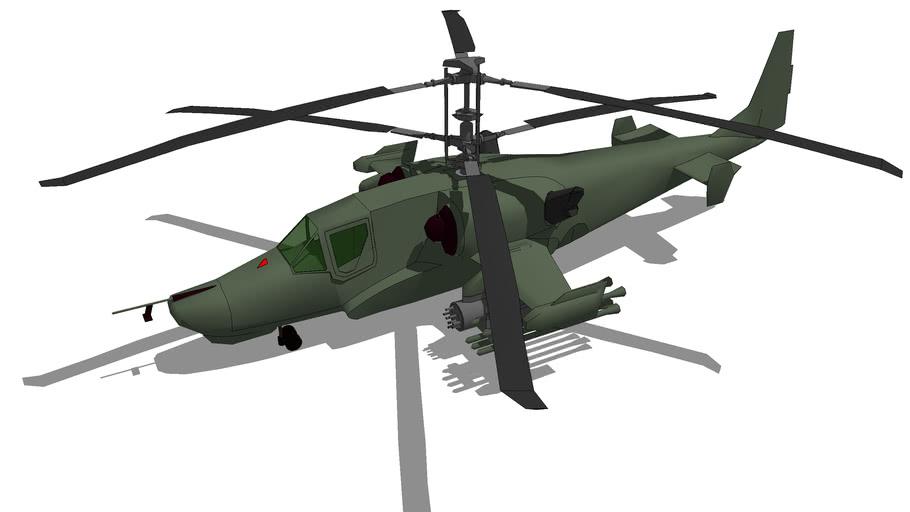 Aircraft - Kamov Ka-50 Hokum