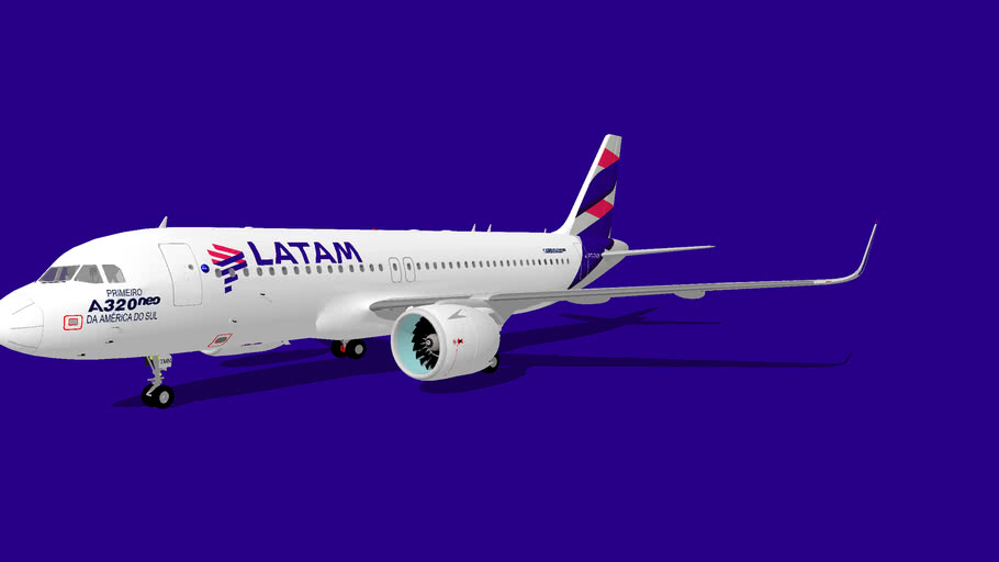 LATAM Airbus A320-214neo [PT-TMN]
