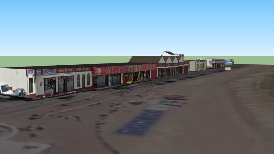 Western Promanade & Arcades, Herne Bay, Kent