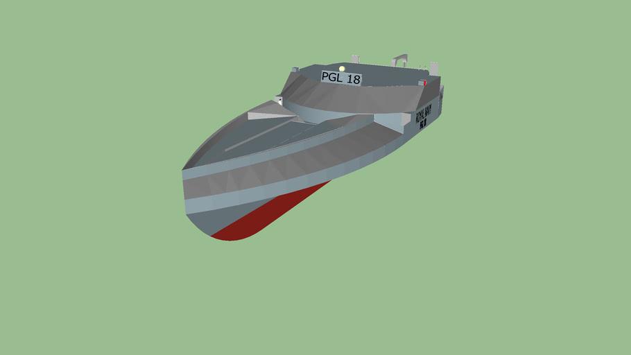 Royal navy boat
