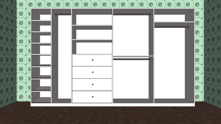 closet vray ready