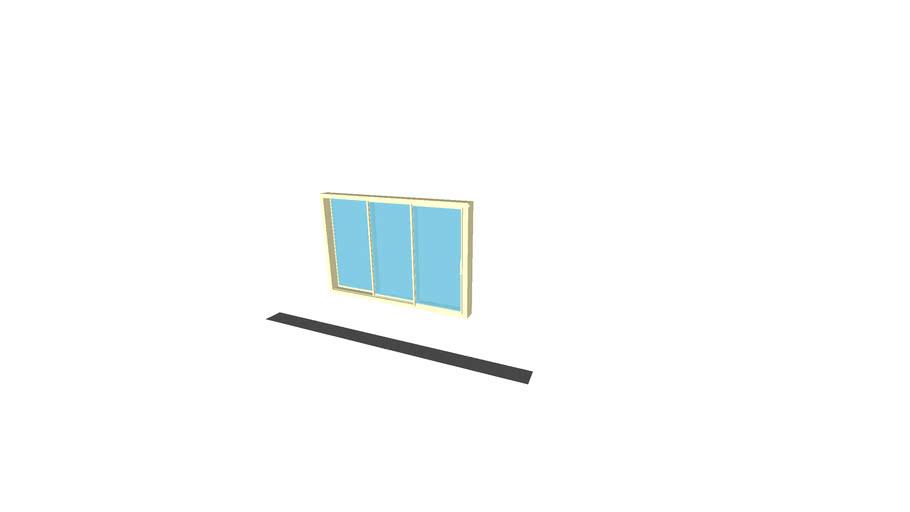 NanaWall cero II Double Glazing OXX - The Minimal Framed Large Panel Sliding Glass Wall