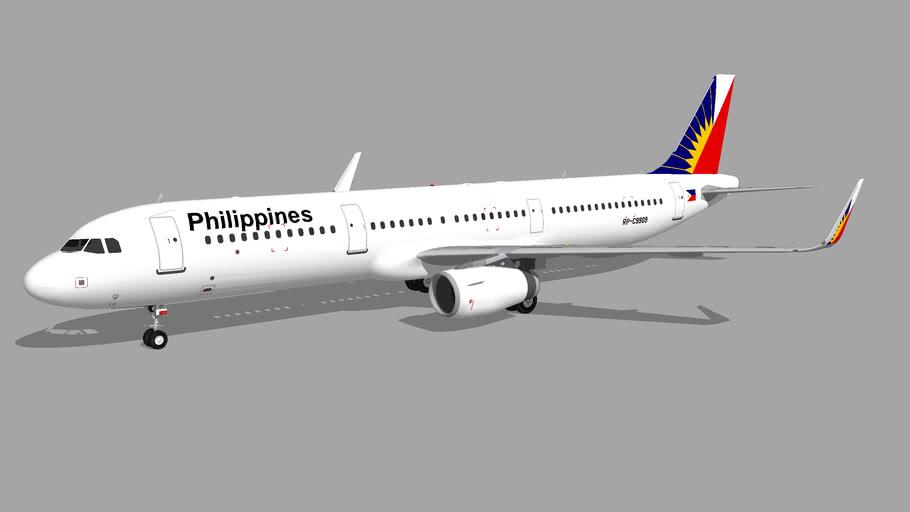Philippine Airlines (RP-C9909) - Airbus A321-231 (2014)