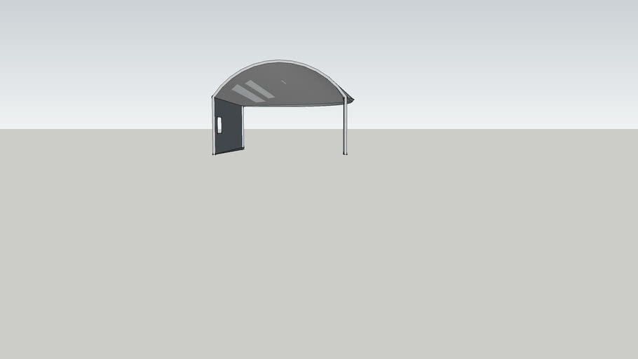 Curved Roof Structure