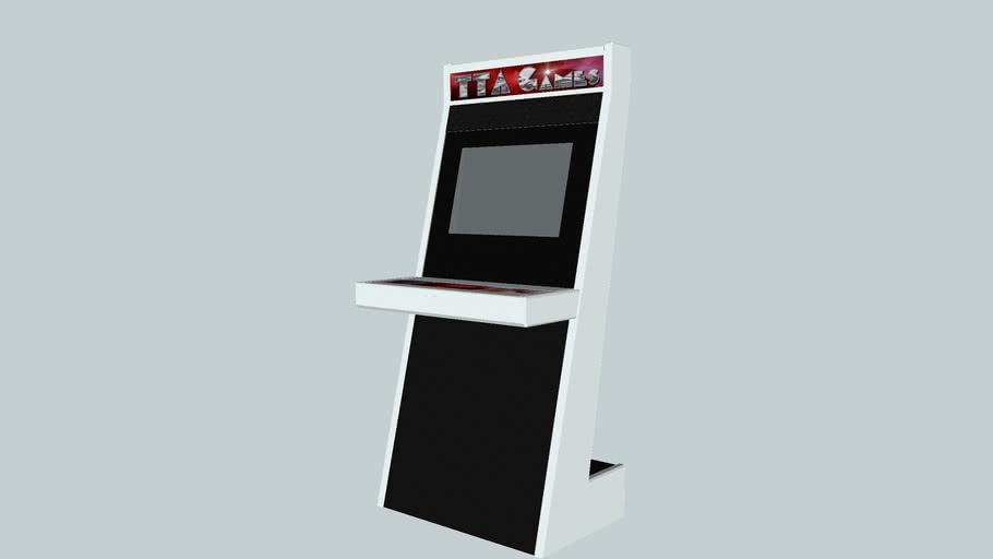 Slim arcade cabinet