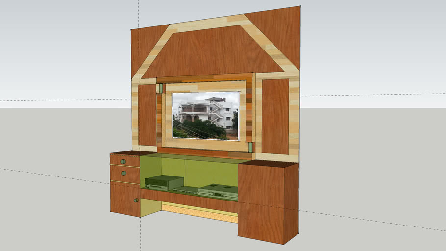 Home Theatre-Wall Unit-10'x10'