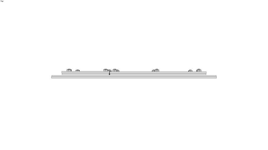 Kabeldurchf�hrungsplatte Metall Typ 134/34