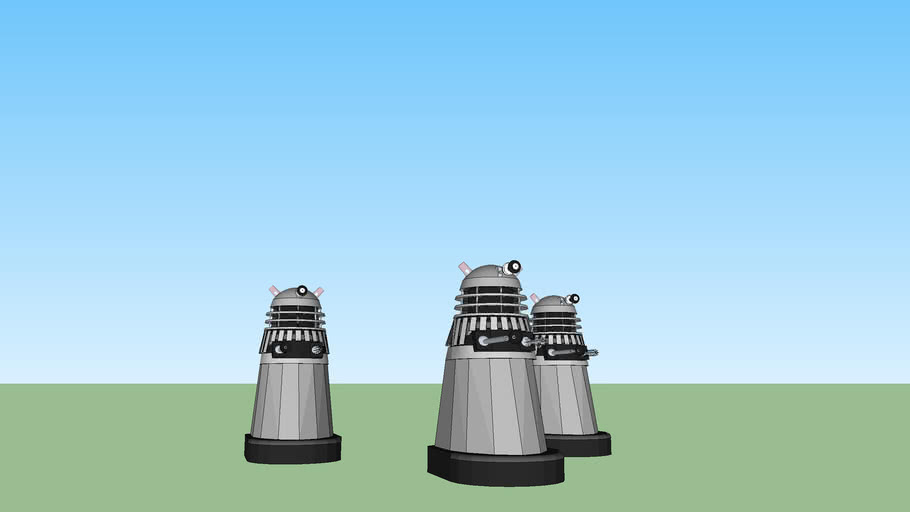 Unfinished Daleks (Doctor Who Millenuim)