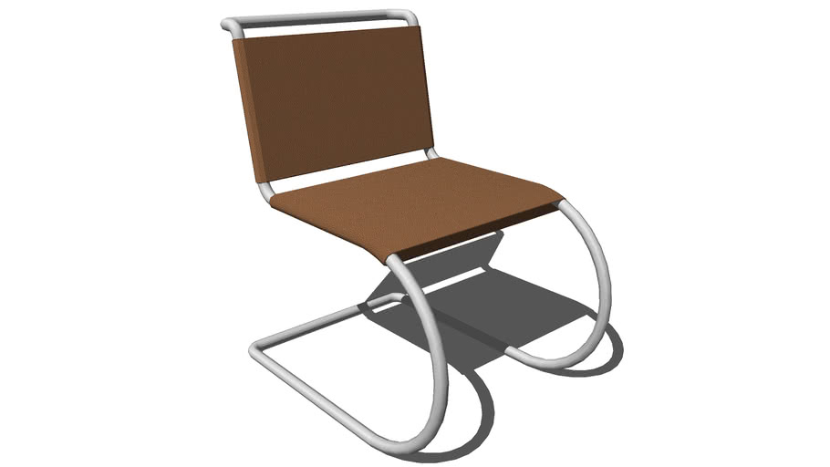 Mr Chair _leather set and back _armless