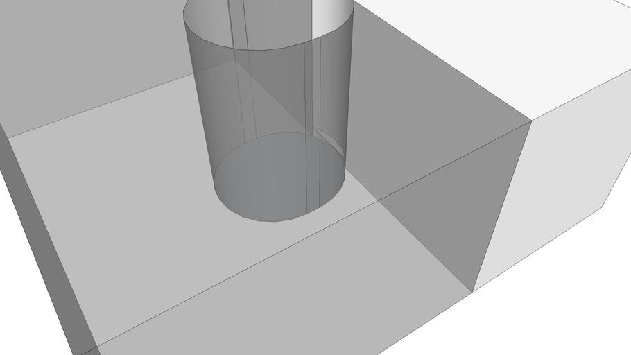 prototype shotgun round cutter for making wax slug