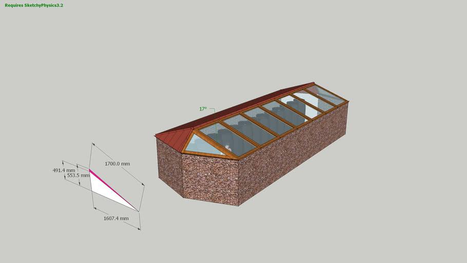 Walipini greenhouse