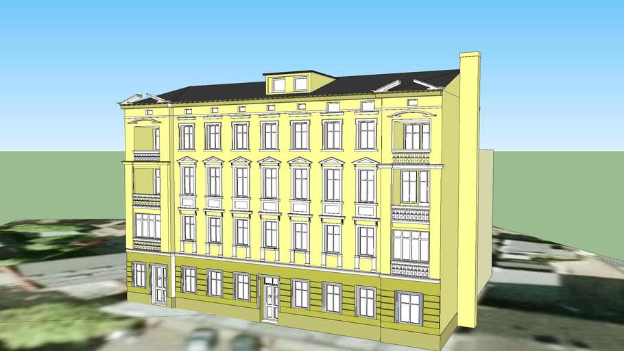 TENEMENT HOUSE ON 4 PLAC PIASTOWSKI SQUARE IN BYDGOSZCZ
