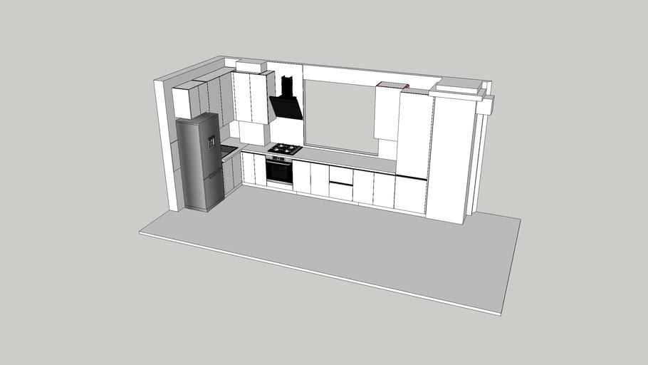 Кухня, в современном стиле