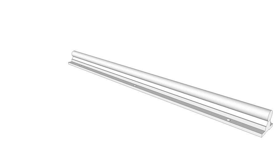 Linear Shaft Support Rail SBR16