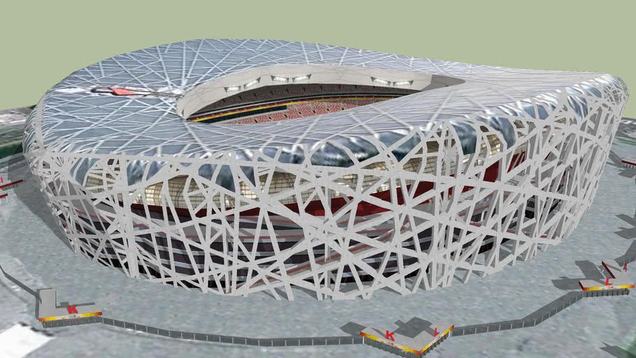 National Stadium of China / 北京国家体育场
