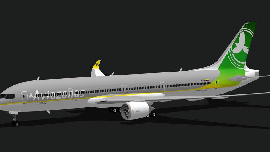 Aviazonas QXII new livery