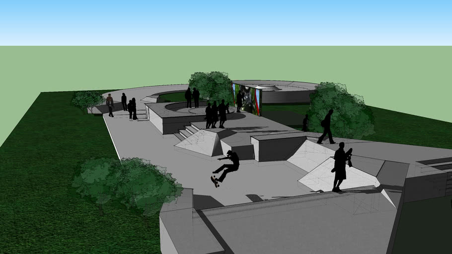 Te Rauparaha skate park extension
