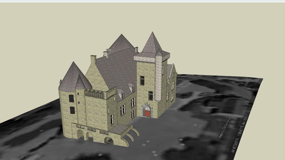 Le chateau des milandes