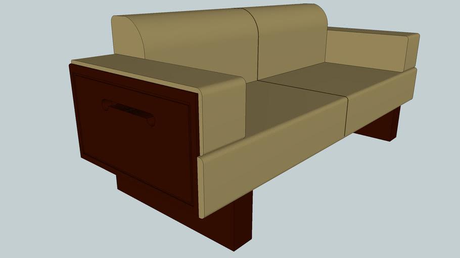 Chinese style sofa