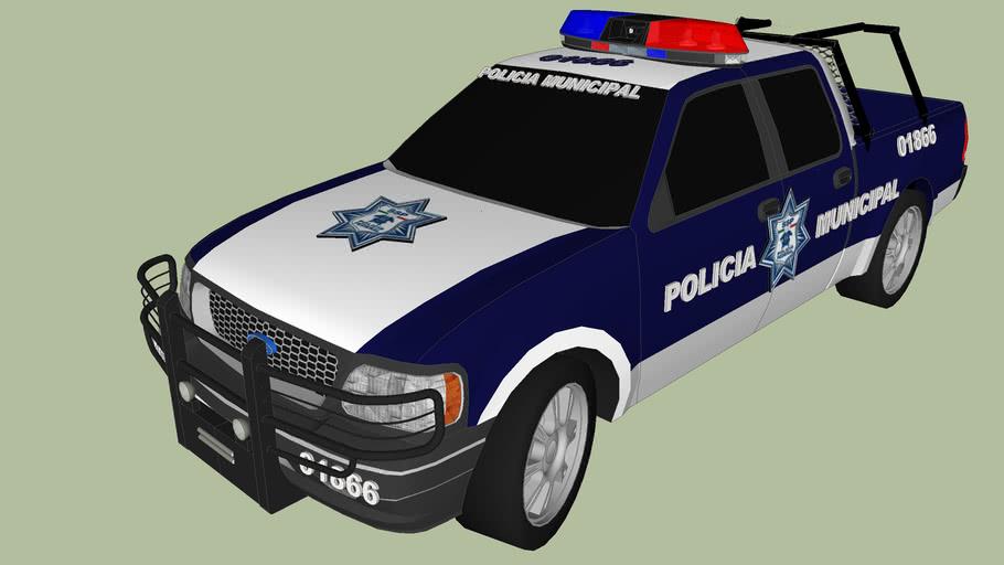 patrulla de seguridad publica policia municipal