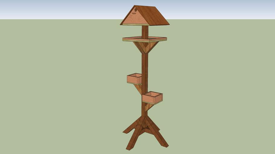 Bird Table - Free Cutting Plan