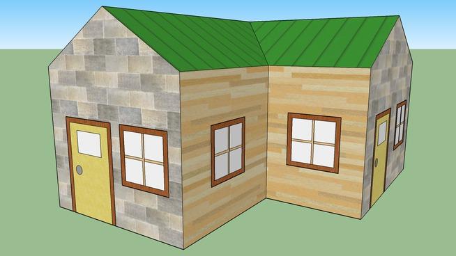 Complex Paper House