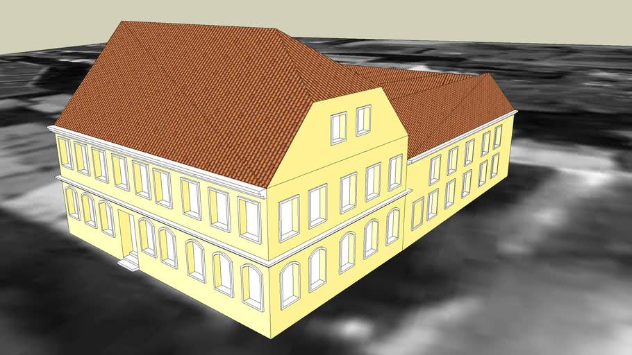 TENEMENT HOUSE 0N 1 PRZYRZECZE STREET IN BYDGOSZCZ