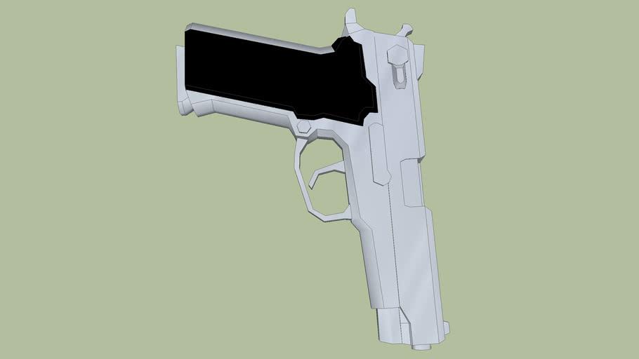 arma 45 pistola