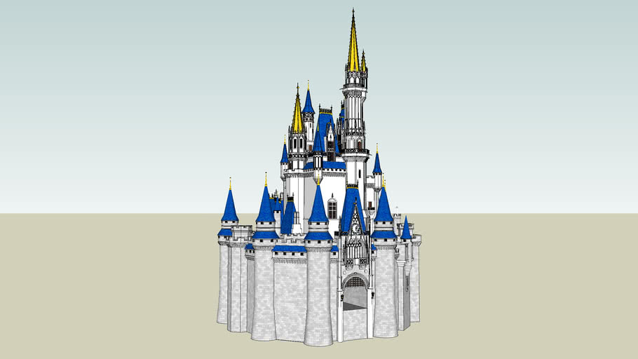 Wal Disney World Castle