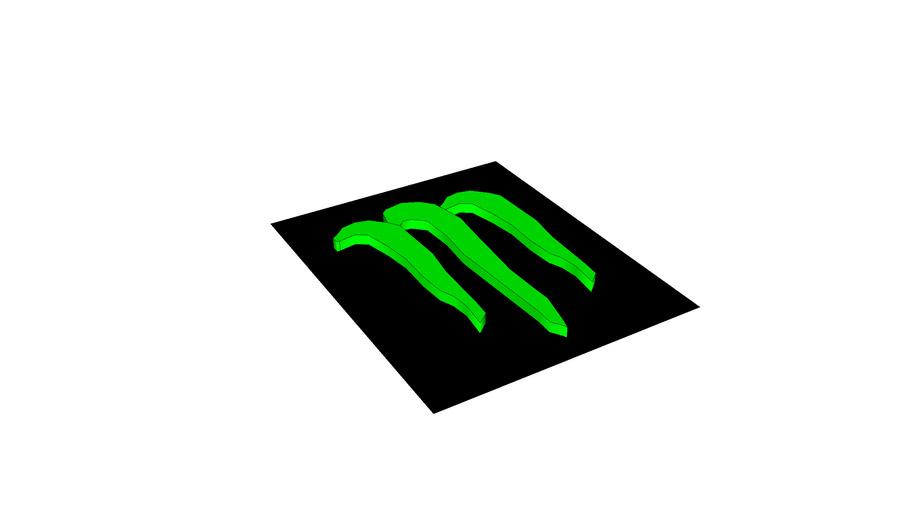 Monster Energy Drink Logo 3d Warehouse