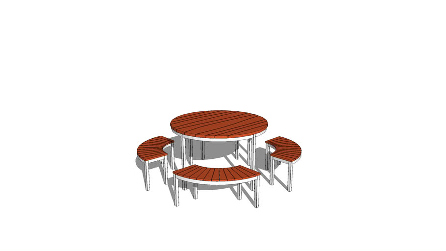 MARK Product Wave Table Round 1200mm