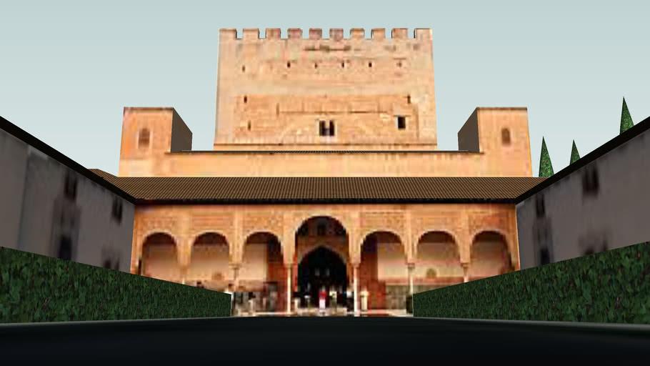 La Alhambra - Palacios Nazaríes - Palacio del Mexuar y Palacio de Comarex