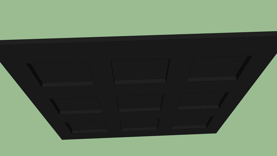 Porte garage 2,3x2,15