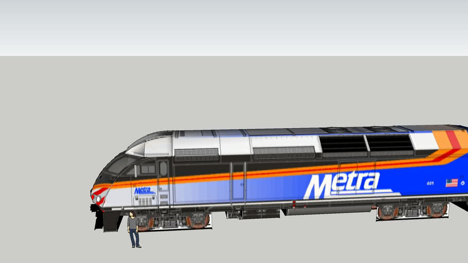 Metra Mp36 Locomotive