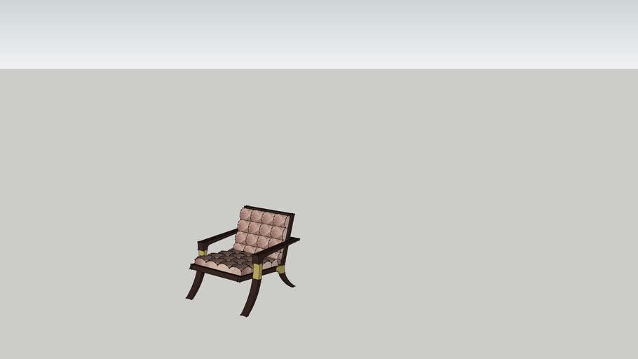 Baker Furniture Athens Lounge Arm Chair