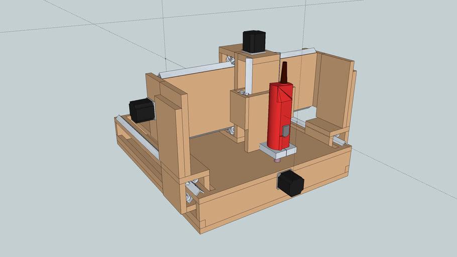 Custom Built CNC v0.2