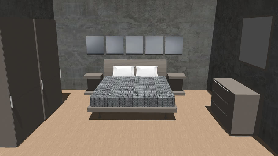 Bed room T70