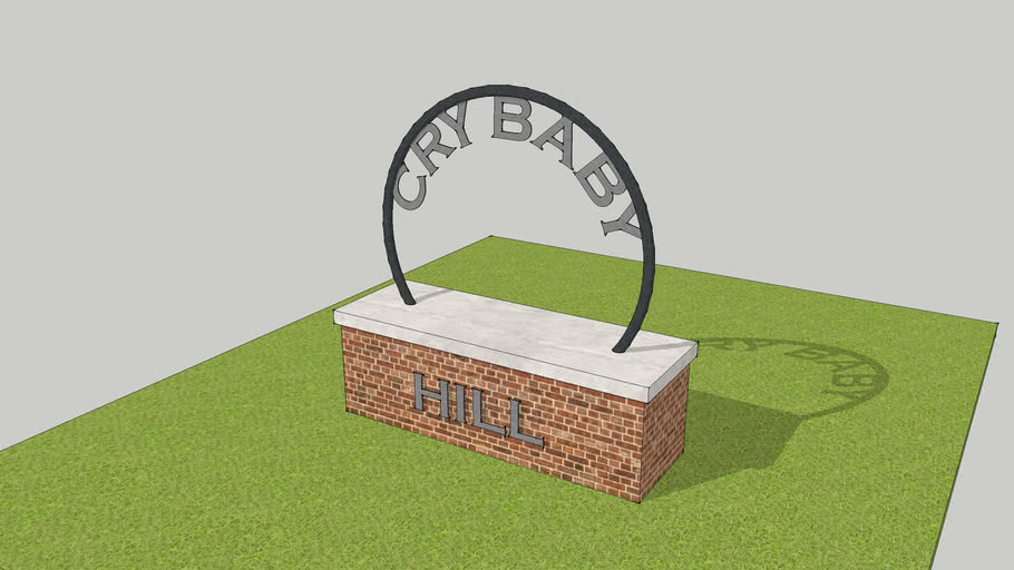 Cry Baby Hill Model