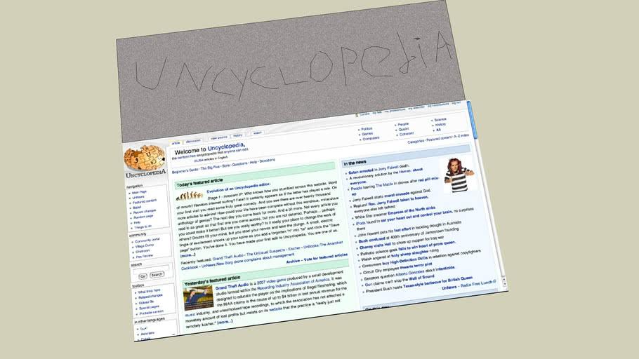 Uncyclopedia Main Page