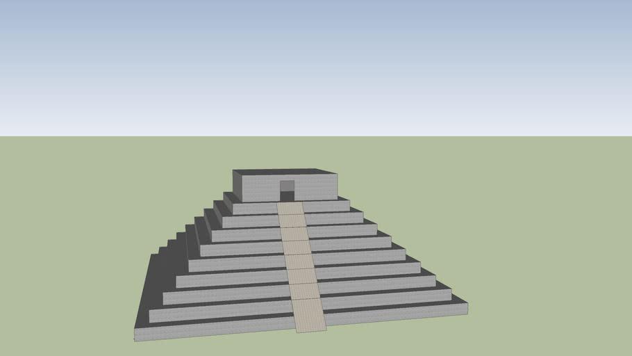 Maya temple 1
